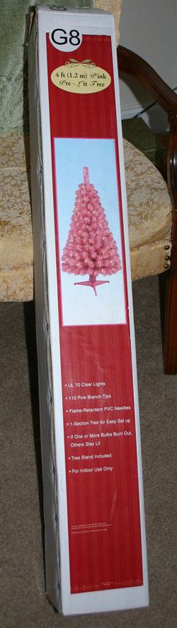 Pink tree Box