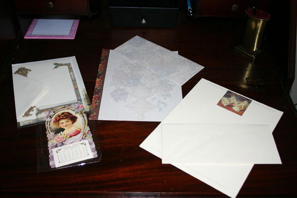 Antique desk stationary gift