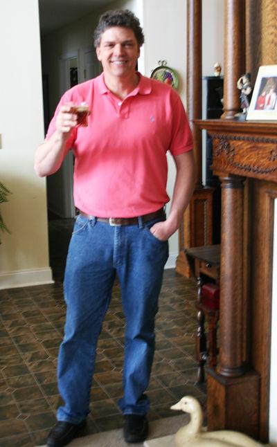 Brett pink shirt
