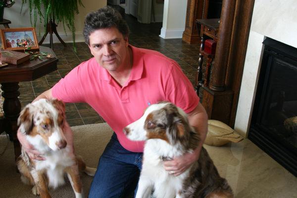 Brett pink Shirt dogs