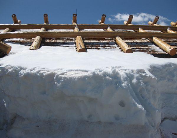 Rocky mtn snow