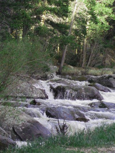 Rocky mtn cascade water