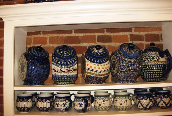 Blue pottery 4