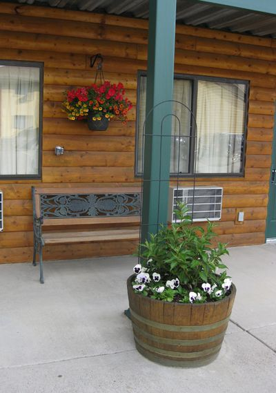 Front porch Yellowstone
