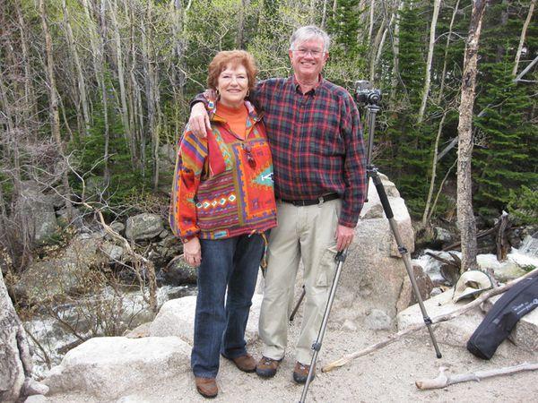 Alberta Falls Jeanne and Bill