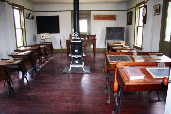 School house inside