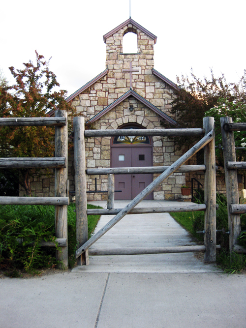 Backyard Neighbor: GOING TO CHURCH ON SUNDAY