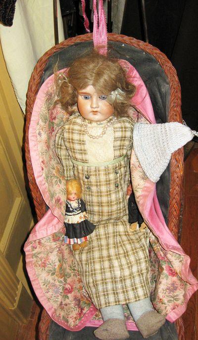 Pink vintage doll 2009