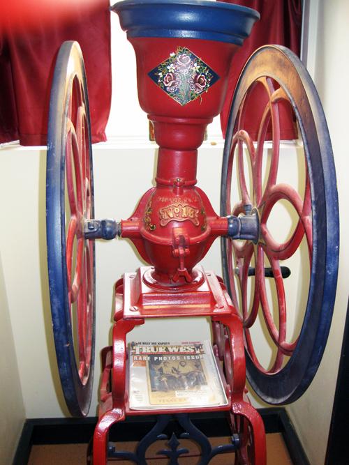 Pink coffee grinder 2009