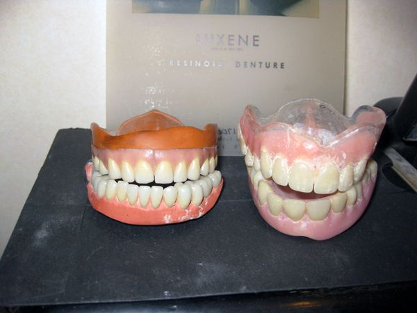 Pink false teeth 2009