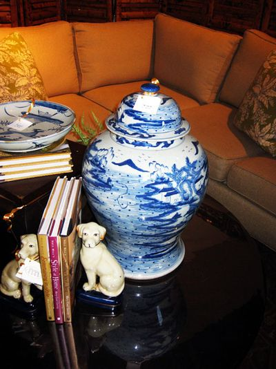 Nell Hill's blue vase