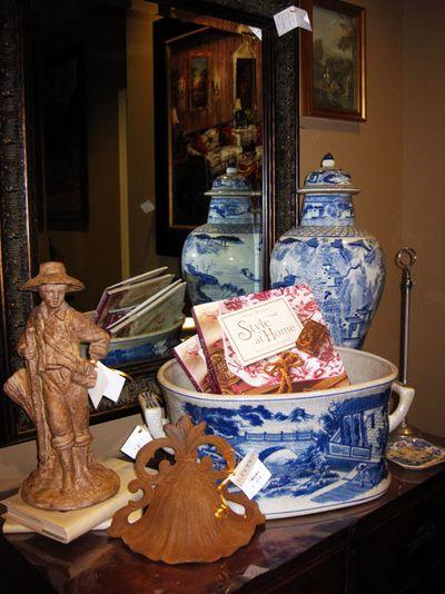 Nell Hills blue vases