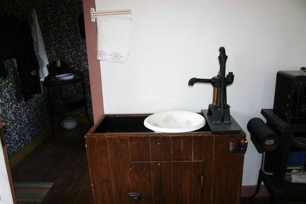 PS pump and wash bowl