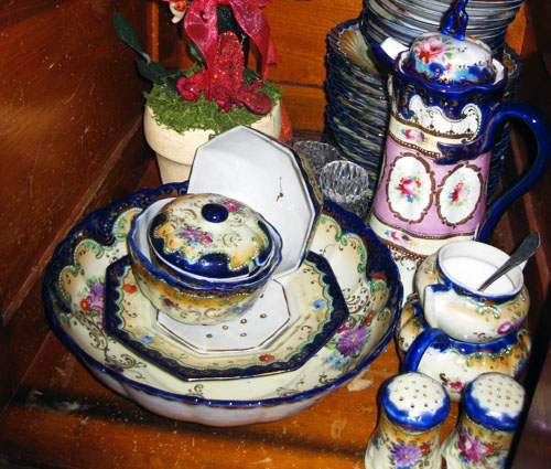 Blue Monday nippon cobalt blue dishes 2