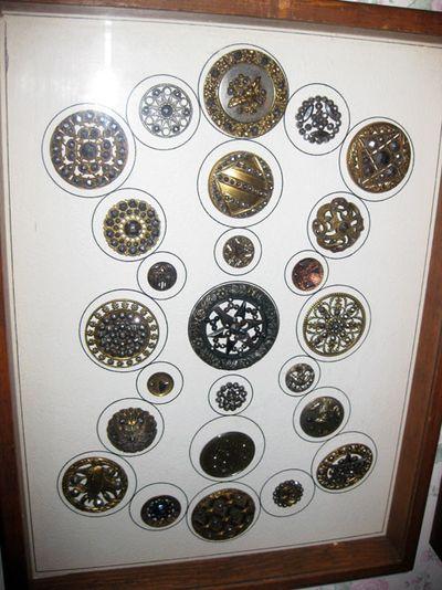 Antique buttons 2