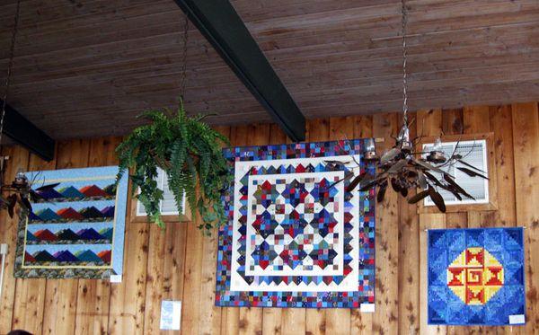 Blue Ridge quilts