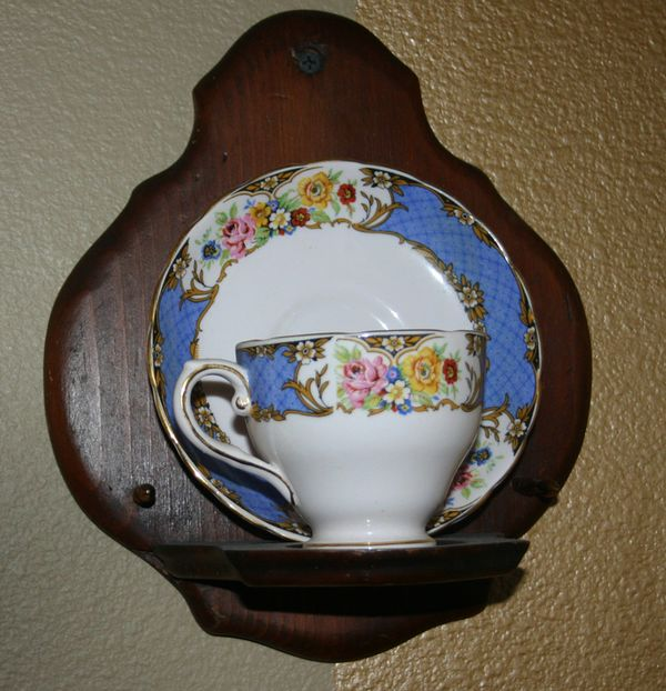 Blue Monday cup and saucer