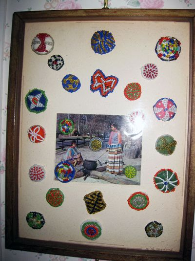 Antique Indian buttons
