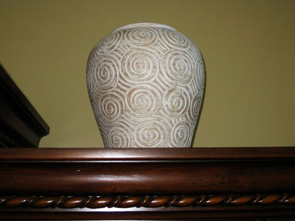 Vase from goodwill