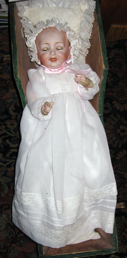 Aunt Shirley's cradle doll