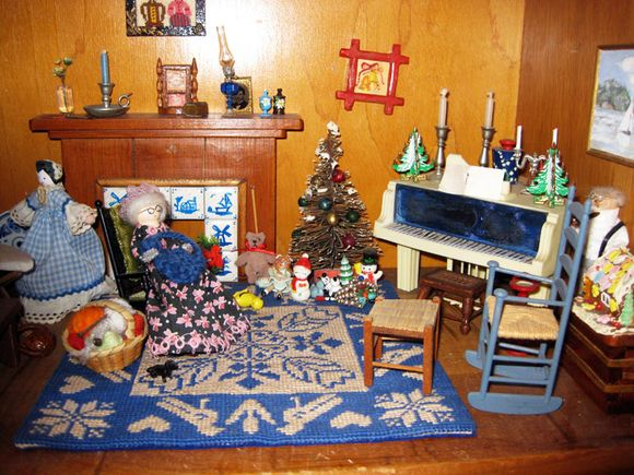 Blue dollhouse 3