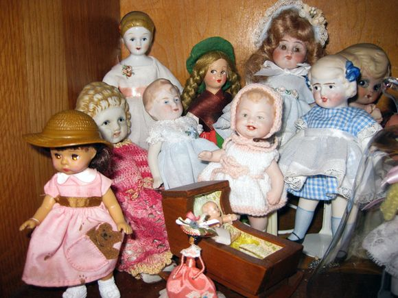 Aunt Shirley's dolls small