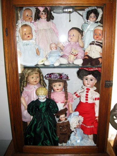 Aunt Shirley's dolls