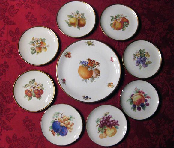 German fruit cake set