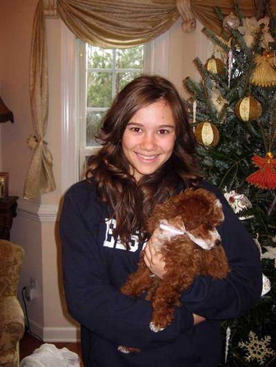 Cheri molly Christmas 2009