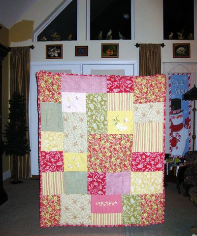 Quilt from Good Will
