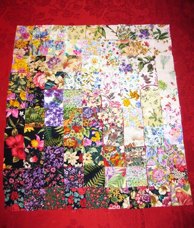 Quilt project redwinged blackward 1