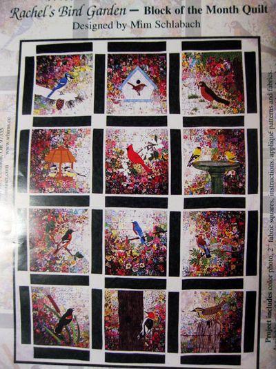 Project bird quilt 2
