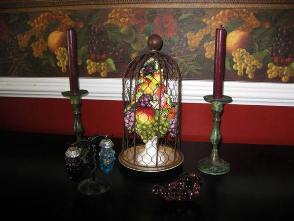 Cloche fruit large