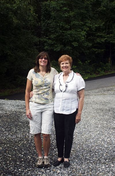 Christina and Jeanne