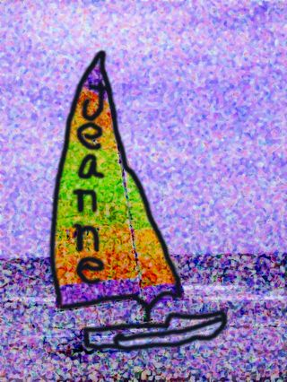 Jeanne's sailboat