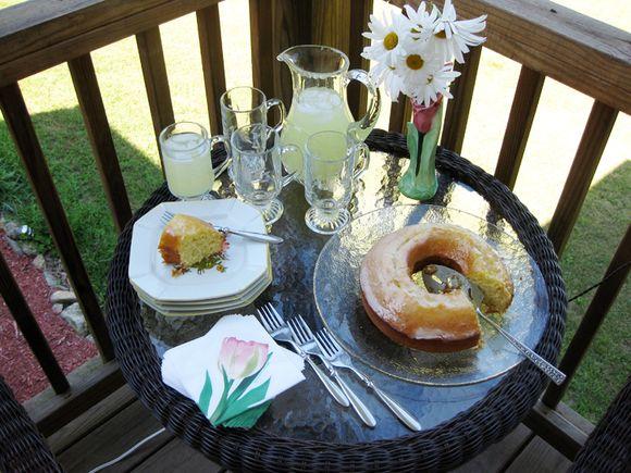 Porch cake