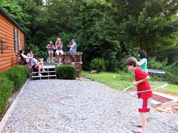 Hula hoop fun 1