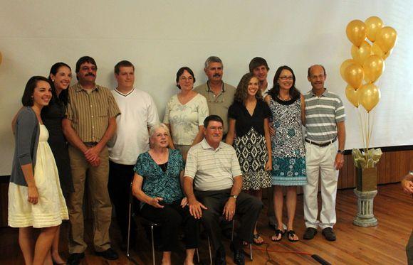 Randy Sharon and family