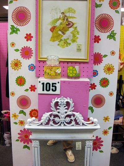Pink 25 flower power