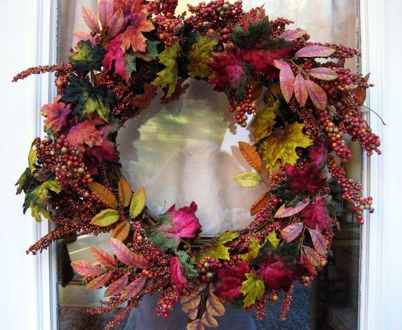 Camera club backdoor wreath