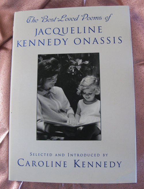 Pink Jacque Kennedy book