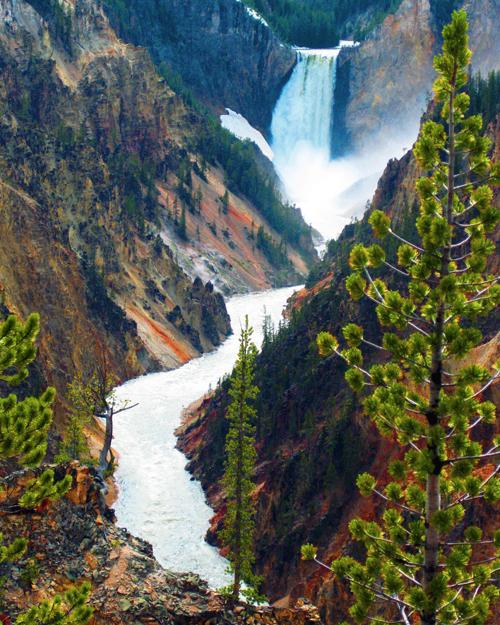 Yellowstone falls small