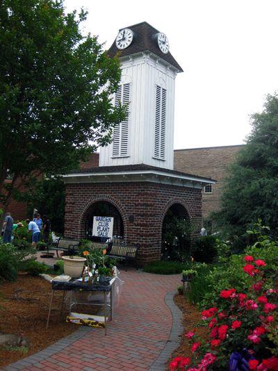 G Clock tower
