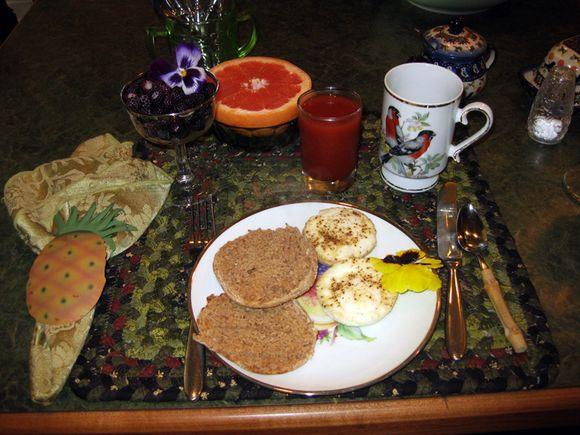Fri Bill's plate