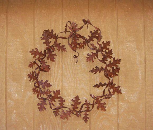 Camera club shed wreath