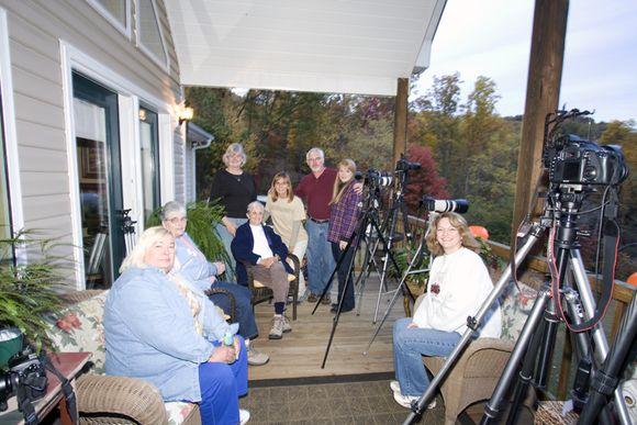 Camera club on deck