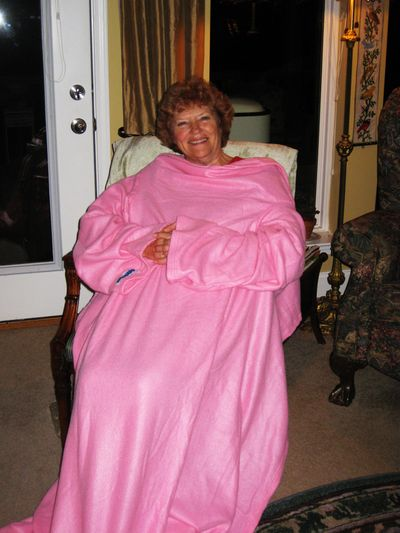 Pink snuggie 2