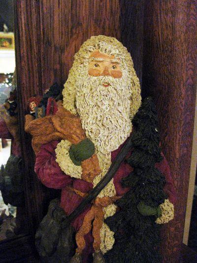 Santa auction closeup