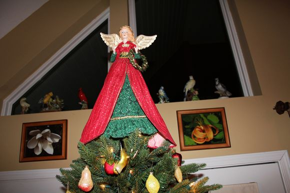 Xmas tree angel