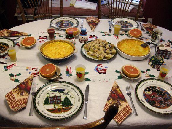 Christmas breakfast 1